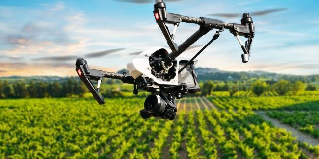 The benefits of drones in agriculture